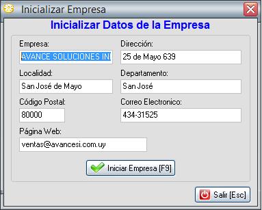 INICIALIZAR-DATOS-EMPRESA